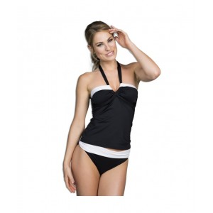 Tankini top Colourblock